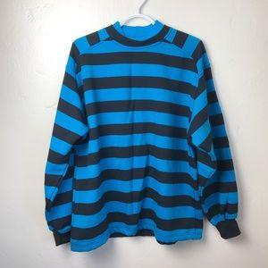 Express | Vintage Crewneck Striped Sweater
